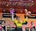 Roglic sentencia pronto la 'crono' y se enfunda la primera etapa del Giro de Italia