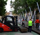 La tómbola abre este sábado en Pamplona y se podrá ver la  maqueta de la nueva estructura