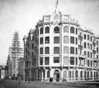 Así evolucionó el edificio de La Vasco Navarra donde se ha instalado Zara