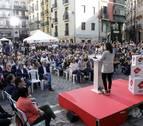 """Arrimadas: """"Navarra merece mucho más que ser sucursal del País Vasco"""""""
