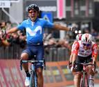 Cara y cruz para Movistar en el Giro: gana Carapaz y caída de Mikel Landa