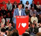 Pedro Sánchez, Pablo Iglesias y Alberto Garzón este miércoles 15 en Pamplona