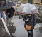 La alerta por lluvias y tormentas aumenta a naranja esta tarde en Navarra