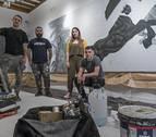 Estella enfoca las guerras carlistas desde el prisma del arte urbano