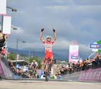 Fausto Masnada gana la sexta etapa y Conti es el nuevo líder