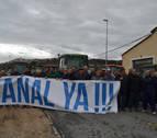 """Los agricultores piden que el agua de Itoiz llegue """"ya"""" al ramal del Ega"""