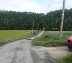 Fallece un ciclista tras sufrir una caída entre Izcue y Ororbia