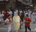 Justin Bieber 'corre' disfrazado el encierro de San Fermín en su nuevo videoclip
