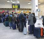 El crecimiento en 2019 de los pasajeros en el aeropuerto se debe a los vuelos a Madrid