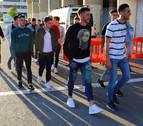 La plantilla de Osasuna se ha reunido en El Sadar para ver el Albacete-Granada