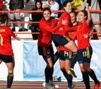 La selección española femenina, concentrada en Tafalla hasta el jueves