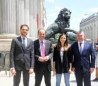 Los parlamentarios navarros toman posesión de su cargo en las Cortes