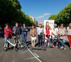 Esporrín (PSN) apuesta por una Pamplona con más movilidad sostenible