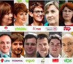 La carrera electoral en Navarra cada vez tiene más nombre de mujer