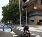 Los taxistas de Pamplona detectan dos puntos negros en la avenida Pío XII