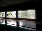Desalojada la piscina cubierta de Cantolagua en Sangüesa por una tromba de agua