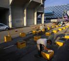 VDR se instala en El Sadar para las obras