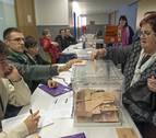 1.900 navarros se han librado de no estar este domingo en una mesa electoral