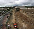 La antigua fábrica de Super Ser, reducida a escombros para dar paso a Ikea