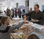La participación en Navarra se sitúa en máximos históricos, solo superada en 2007 y 1987