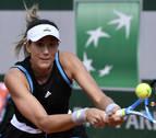 Muguruza, susto de entrada y remontada hasta la segunda ronda de Roland Garros