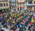 Más de 100 personas en el ciclo indoor de  Murchante