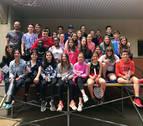 Una carrera solidaria para cerrar el curso en Tudela