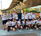 El Club Piragüismo Pamplona  consigue una de Cal y otra de bronce
