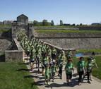 La VI marcha contra el cáncer reúne a 4.000 personas en Pamplona