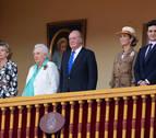 El rey Juan Carlos se corta la coleta