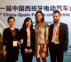 Navarra busca oportunidades en torno al vehículo eléctrico en China