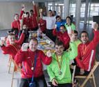 El fin de curso de los campeones de El Molino y Anfas