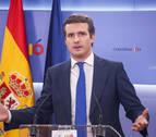 El PP no se opone a la propuesta de Esparza para gobernar en Navarra y Pamplona