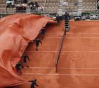 Aplazada al sábado la semifinal Djokovic-Thiem por la lluvia