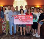 Murchante entrega 20.181 euros al CIMA de su marcha contra el cáncer