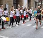 Cuando el público también participa en la San Fermín Marathon