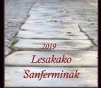 La elección del cartel y las portadas colorea los Sanfermines de Lesaka