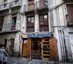 Cierran y tapian el edificio ocupado en Jarauta