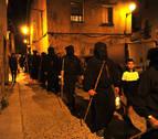Los Doce de Olite caminan hacia la Virgen de Ujué