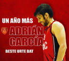 El alero Adrián García renueva con Basket Navarra por un año más