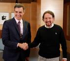 Sánchez se resiste a que haya miembros de Podemos en el Gobierno
