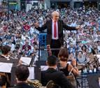 La Pamplonesa cierra sus conciertos al aire libre en San Fermín Txikito