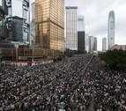 Miles de manifestantes toman Hong Kong contra la polémica ley de extradición