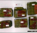 Dos detenidos en Santesteban con 58 kilos de hachís