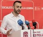 Crespo (PSN) pide el voto de Bildu para auparse a la alcaldía de Estella