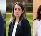 Tres mujeres podrían tomar este sábado las alcaldías de Egüés, Burlada y Barañáin