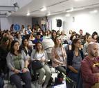 Diario de Navarra se queda pequeño para un taller sobre embarazo con Yolanda Vélaz