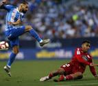 Munir y los palos condenan al Málaga y el Deportivo luchará por ascenso