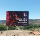 Puñal inaugura la pista polideportiva con su nombre en Allepuz (Teruel)