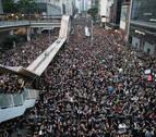 Más de un millón de personas toman las principales avenidas de Hong Kong